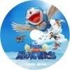 のび太と翼の勇者たち 自作DVDラベル
