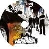 ワイルドスピード✕3 Fast Furious Tokyo Drift 自作DVDラベル