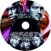 ワイルドスピード1 Fast & Furious 自作DVDラベル