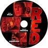 RED(レッド) 自作DVDラベル